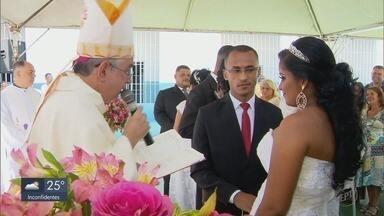 Casamento comunitário é realizado pela Apac de Campo Belo - Casamento comunitário é realizado pela Apac de Campo Belo