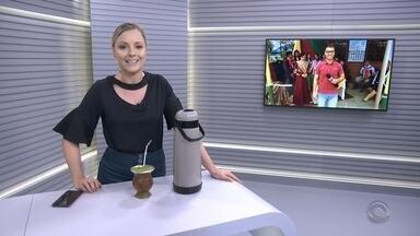 Oficina ensina a fazer chimarrão em Uruguaiana - Assista ao vídeo.