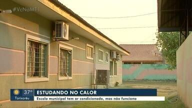 Calorão na Escola Estadual Terezinha de Jesus, em VG - Calorão na Escola Estadual Terezinha de Jesus, em VG