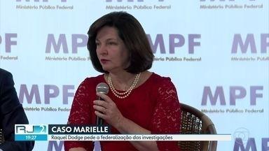 Raquel Dogde pede a federalização das investigações do caso Marielle - A procuradora-geral da República ainda denunciou o conselheiro afastado do Tribunal de Contas do estado Domingos Brazão por obstruir as investigações.