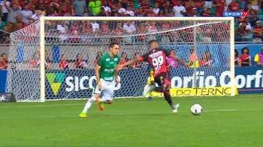 Vitória 0 x 1 Guarani