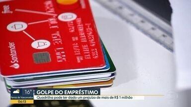 Quadrilha aplica golpe do empréstimo em Poá - Prejuízo pode ter chegado a mais de 1 milhão de reais.