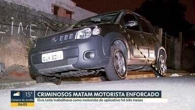 Motorista de aplicativo é morto na Grande São Paulo - Homem de 41 anos resistiu ao assalto e foi enforcado com o próprio cinto de segurança.