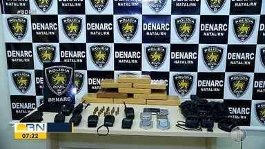 Polícia Civil apreende 9 quilos de cocaína e prende foragido na Zona Leste de Natal - Polícia Civil apreende 9 quilos de cocaína e prende foragido na Zona Leste de Natal