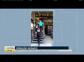 Polícia Civil faz operação de combate a venda irregular de peças automotivas - Ação foi realizada em várias cidades de Minas Gerais.