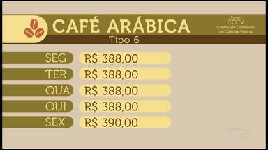 Cotação do café: confira como se comportou o mercado nesta semana no ES - Confira a cotação do café no Espírito Santo.