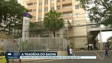 Morre mais uma vítima transferida depois do incêndio no Hospital Badim - O paciente de 86 anos morreu na madrugada desta quarta (25).