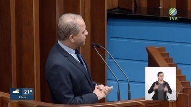 Deputado estadual em MS diz ter celular invadido por hackers - Ele fez pronunciamento durante sessão da Assembleia Legislativa.