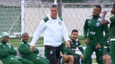 Jorginho cheio de confiança na recuperação do Coritiba - Novo treinador estreia no Coxa no sábado (28), contra o América-MG, no Couto Pereira