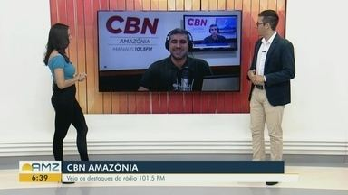 Confira os destaques da CBN Amazônia para esta quinta-feira (26) - Confira os destaques da CBN Amazônia para esta quinta-feira (26).