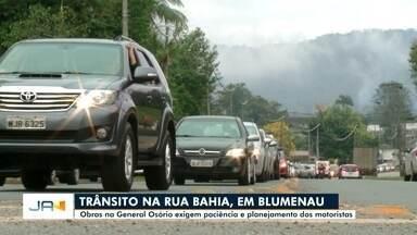 Obras na General Osório exigem paciência e planejamento dos motoristas - Obras na General Osório exigem paciência e planejamento dos motoristas