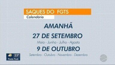 Pagamento do saque do FGTS para os nascidos em maio, junho, julho e agosto começa amanhã - Pagamento do saque do FGTS para os nascidos em maio, junho, julho e agosto começa amanhã