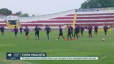 XV de Piracicaba busca melhorar desempenho na terceira fase Copa Paulista - Nhô Quim abre nova etapa do campeonato nesta sexta-feira (27), contra o São Bernardo.