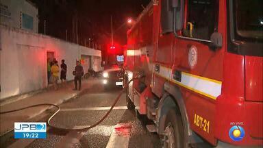 JPB2JP: Incêndio em prédio de comunidade católica em João Pessoa - Informações ao vivo.