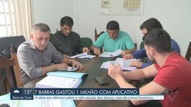 Vereadores de Sete Barras investigam irregularidades no uso do dinheiro público - Município pagou mais de um milhão de reais em um aplicativo para a rede municipal de ensino que nunca funcionou.
