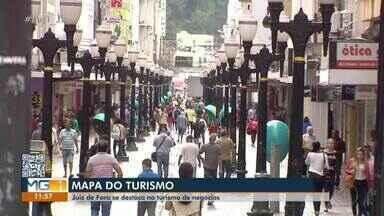 Juiz de Fora está entre as 30 cidades com maior potencial turístico em MG - A classificação foi feita pelo Ministério do Turismo. O município faz parte da Região Turística do Caminho Novo.