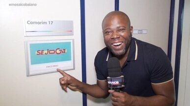 Érico Brás mostra bastidores do 'Se Joga', novo programa das tardes da Rede Globo - Érico Brás mostra bastidores do 'Se Joga', novo programa das tardes da Rede Globo