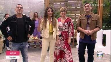 André Marques apresenta o 'É de Casa' - Zeca Camargo brinca com a idade do apresentador