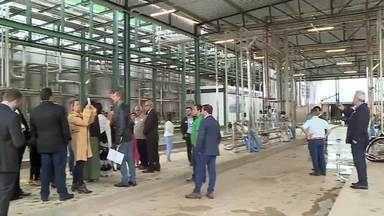 Fábrica de laticínios é inaugurada em Antônio Carlos - Laticínios Porto Alegre passa a ter três fábricas em Minas Gerais.