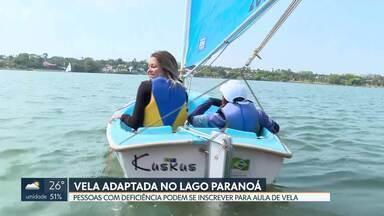 Pessoas com deficiência podem velejar no Lago Paranoá - A Federação Brasiliense de Vela abriu inscrições para aula de vela.