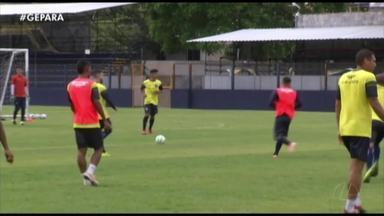 Jogadores do Remo realizam treino recreativo antes da semifinal da Copa Verde - Jogadores do Remo realizam treino recreativo antes da semifinal da Copa Verde