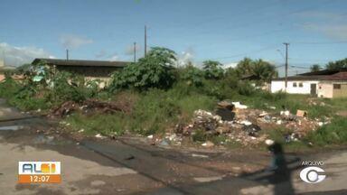 Moradores conseguem dar cara nova a local de descarte de lixo - AL TV nas Comunidades mostrou o problema.