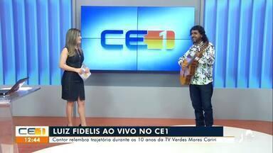Luiz Fidelis relembra trajetória no aniversário de 10 anos da TV Verdes Mares Cariri - Saiba mais em g1.com.br/ce