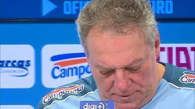 Abel Braga fala sobre o retorno ao Cruzeiro, agora como treinador do time - Abel Braga fala sobre o retorno ao Cruzeiro, agora como treinador do time