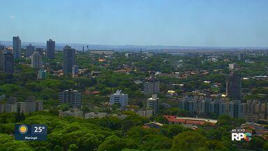 Tempo segue seco e ensolarado na região de Maringá - Confira na previsão do tempo.