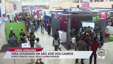 Evento voltado a estudantes oferece dicas e consultoria em São José - Veja a reportagem.