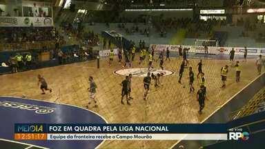 Foz entra em quadra pela Liga Nacional de futsal - O Foz recebe em casa o Campo Mourão.
