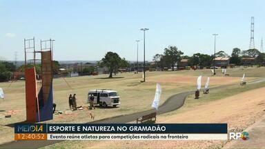 Esporte e Natureza no Gramadão da Vila A - Evento reúne atletas para competições radicais na fronteira.