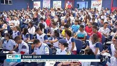 A quase um mês do Enem, estudantes participam de aulões no Cariri - Saiba mais no g1.com.br/ce
