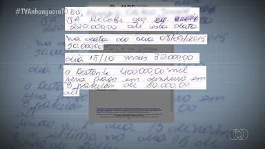 Recibo revela que Brito Miranda pagou por denúncia feita contra Sandoval Cardoso - Recibo revela que Brito Miranda pagou por denúncia feita contra Sandoval Cardoso