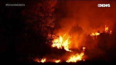 As queimadas no Centro-Oeste