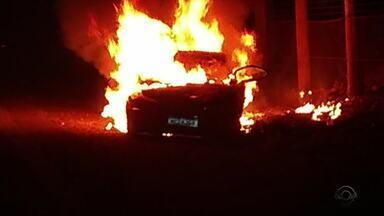 Homem morre atropelado e familiares depredam casa de motorista suspeito em Bom Jesus - Motorista foi preso em flagrante e teve também o carro incendiado.