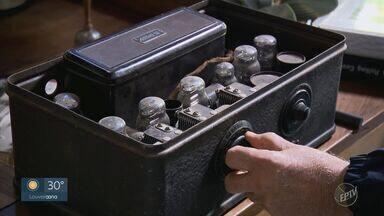EPTV 40 anos: colecionador de rádios revela paixão pela comunicação - Conheça outras histórias na edição especial do Globo Repórter, que vai ao ar nesta sexta-feira (4).