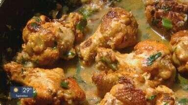 Prato Feito: Kassab traz dica de aperitivo de frango - Veja os ingredientes e o modo de preparo.