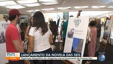 Exposição fotográfica em shopping de Salvador marca lançamento da nova novela das seis - Fotos antigas da capital baiana fazem parte do portfólio do evento.