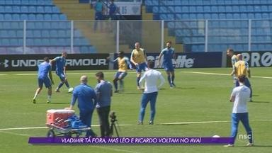 Com Léo e Ricardo à disposição, Avaí recebe o Bahia na Ressacada - Com Léo e Ricardo à disposição, Avaí recebe o Bahia na Ressacada