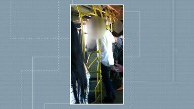 Homem é preso por importunação sexual em terminal de Londrina - Ele foi acusado de constranger sexualmente passageiros em ônibus da zona norte.