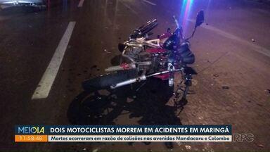 Acidentes na Colombo e Mandacaru matam 2 motociclistas - Colisões ocorreram em menos de 24 horas.