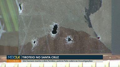 Segundo a polícia, homicídio no Santa Cruz foi motivado por dívidas de um vídeo game - O crime foi no sábado. Além do homem que morreu, outros dois foram baleados.