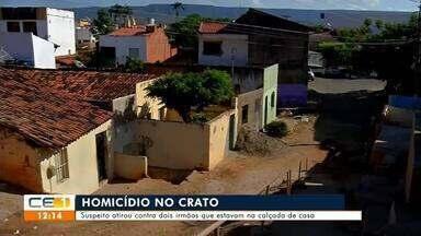 Homicídio em Juazeiro do Norte e Crato - Saiba mais no g1.com.br/ce
