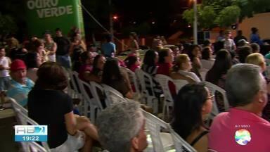 TV Asa Branca promove evento para lançar novela 'Éramos Seis' - Evento aconteceu na Vila Kennedy
