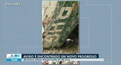 Partes de aeronave que caiu há 40 anos no PA são encontradas - Destroços foram encontradas por um agricultor.