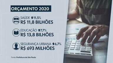 Prefeitura apresenta orçamento para 2020 e proposta é 13,8% maior que em 2019 - O orçamento é de quase R$70 bilhões.