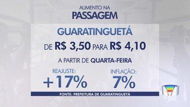 Ônibus vai ficar mais caro em Guará a partir de quarta - Nova empresa passa a operar.