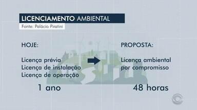 Governo do RS propõe novo código ambiental para acelerar o licenciamento de empresas - Ambientalistas e analistas da Fepam criticam a proposta.
