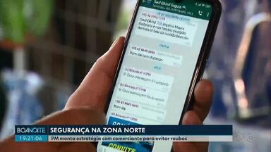 Comerciantes da zona norte de Londrina se unem à PM contra a violência - Parceria tenta identificar pontos vulneráveis para evitar furtos e roubos ao comércio da Saul Elkind